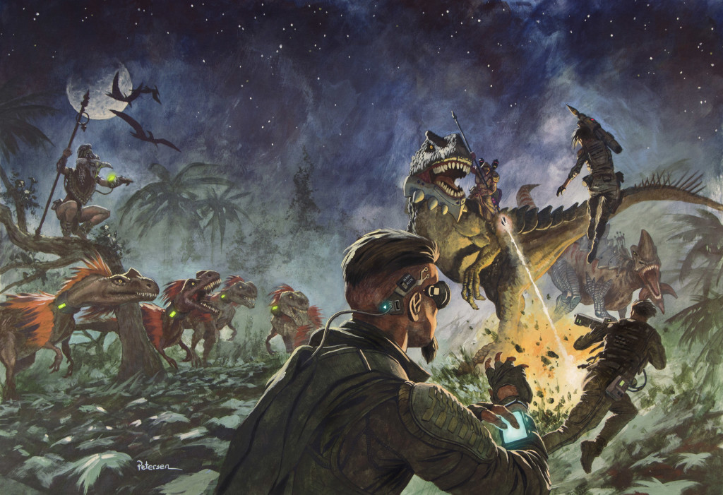 Predation Cover by John Petersen